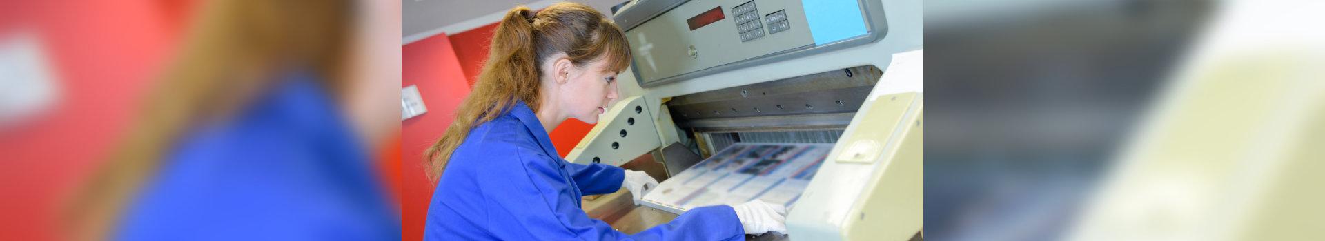 worker and printing machine